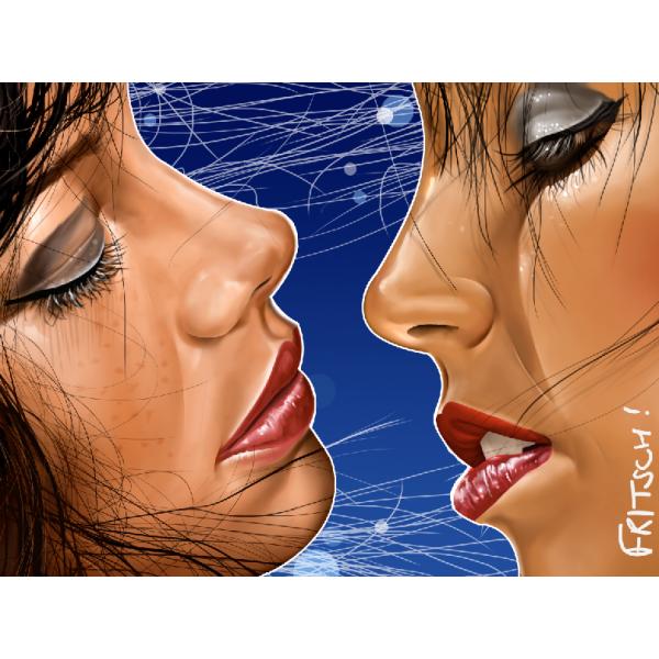 Vincent Fritsch Tableau Art Plexiglas bleu horizon