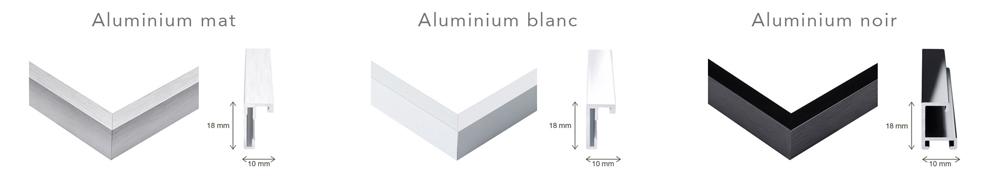 fixation aluminium
